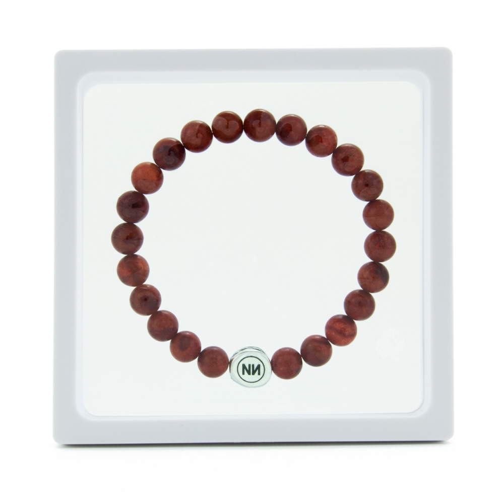 Corallium Net bracelet