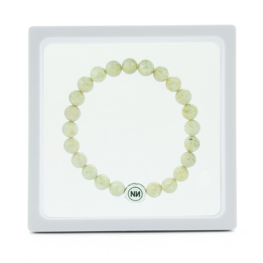 Bracelet nature marbre sable