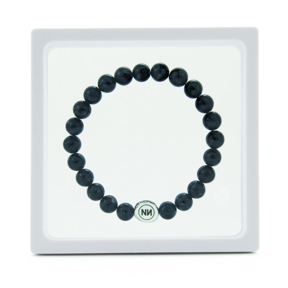 Armband der Natur grauem marmor