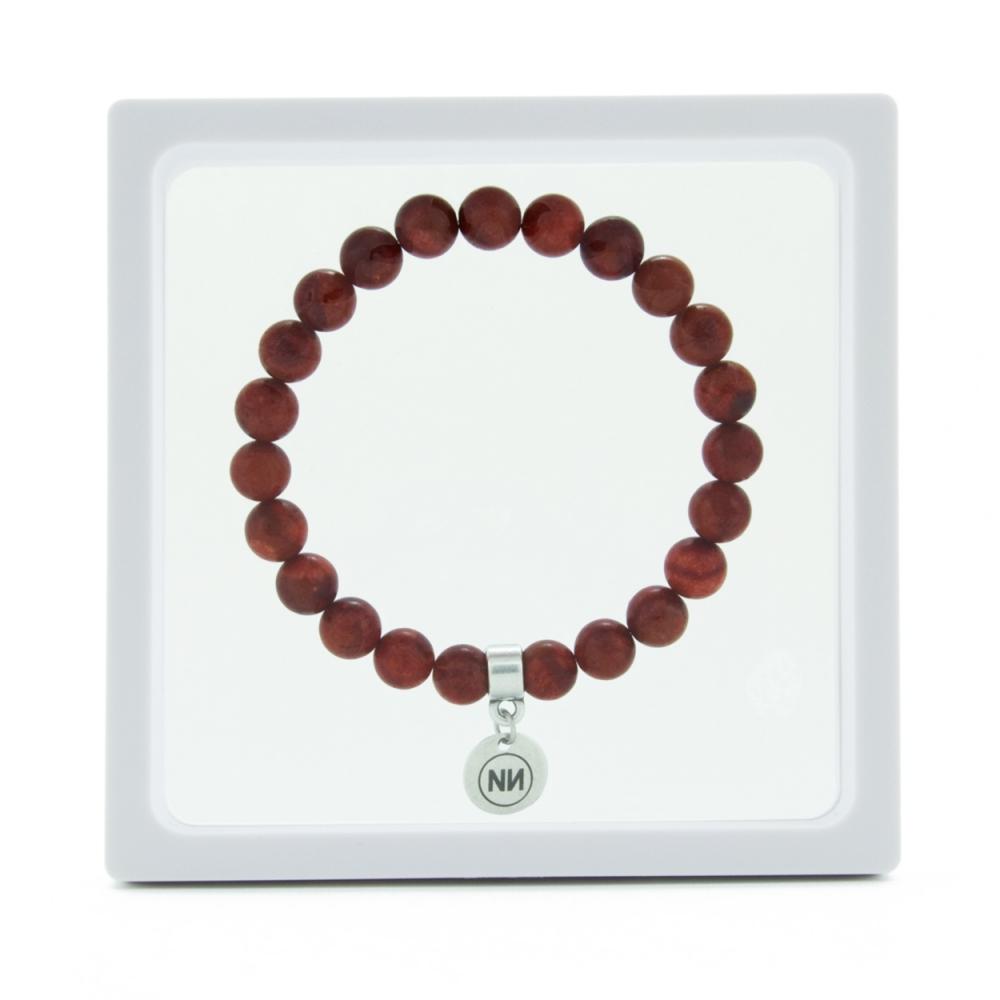 Corallium Net bracelet with pendant