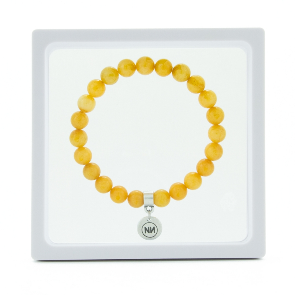 Amber bracelet with pendant