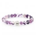 Fluorine hazy bracelet