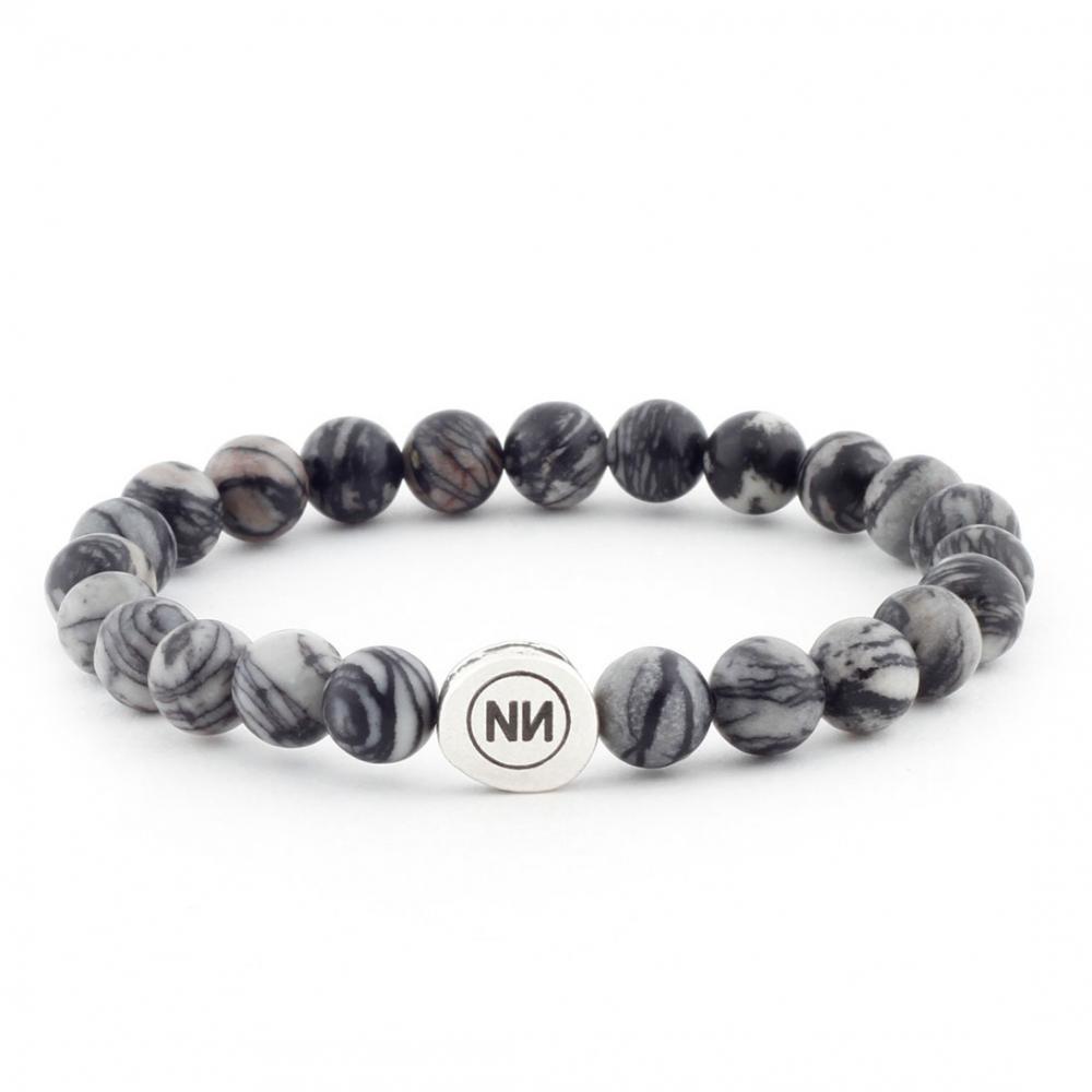 Black spun bracelet