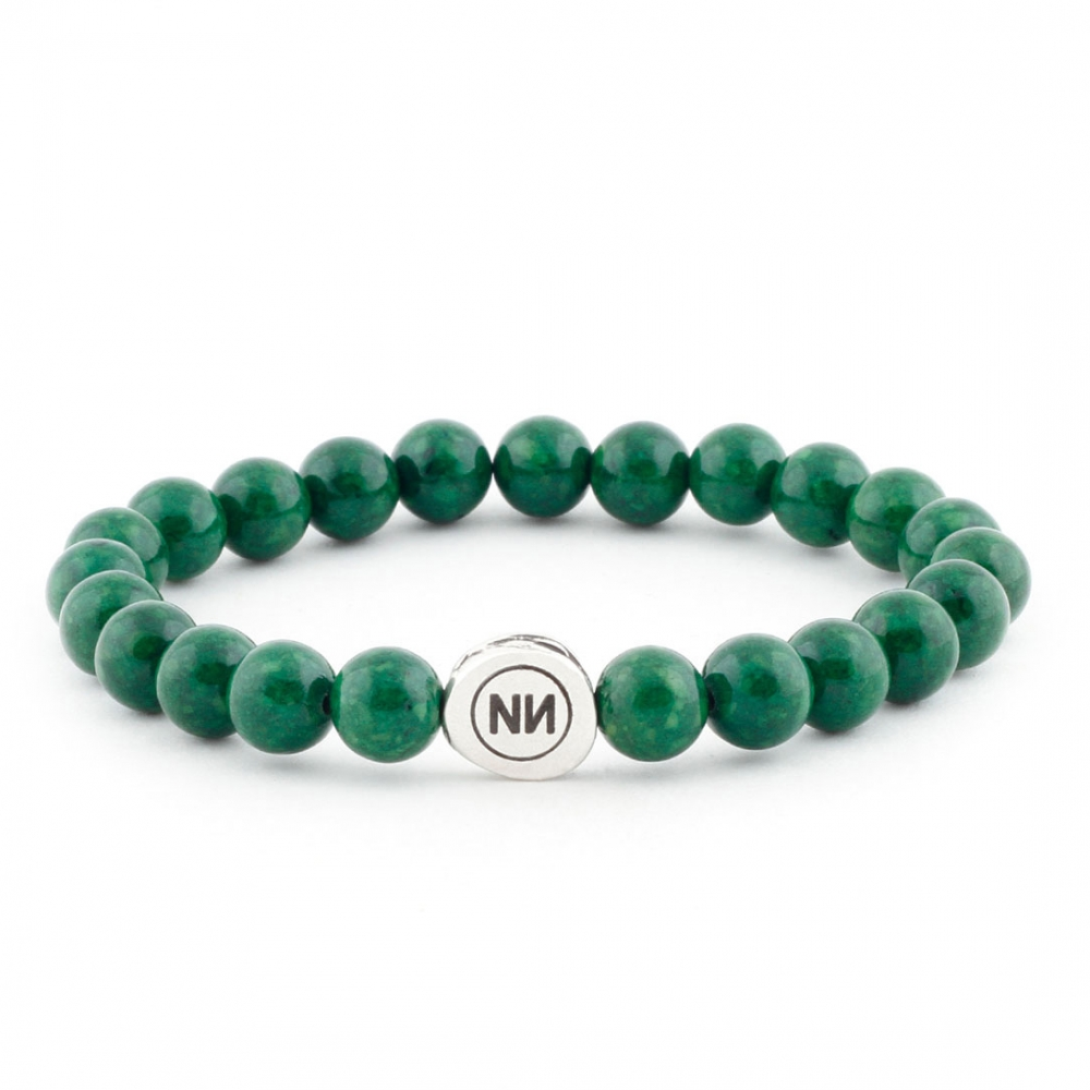 Nature of emerald marble bracelet