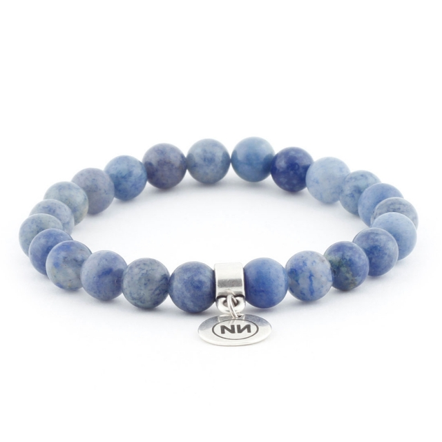 Armband Blau Ventura met Anhänger