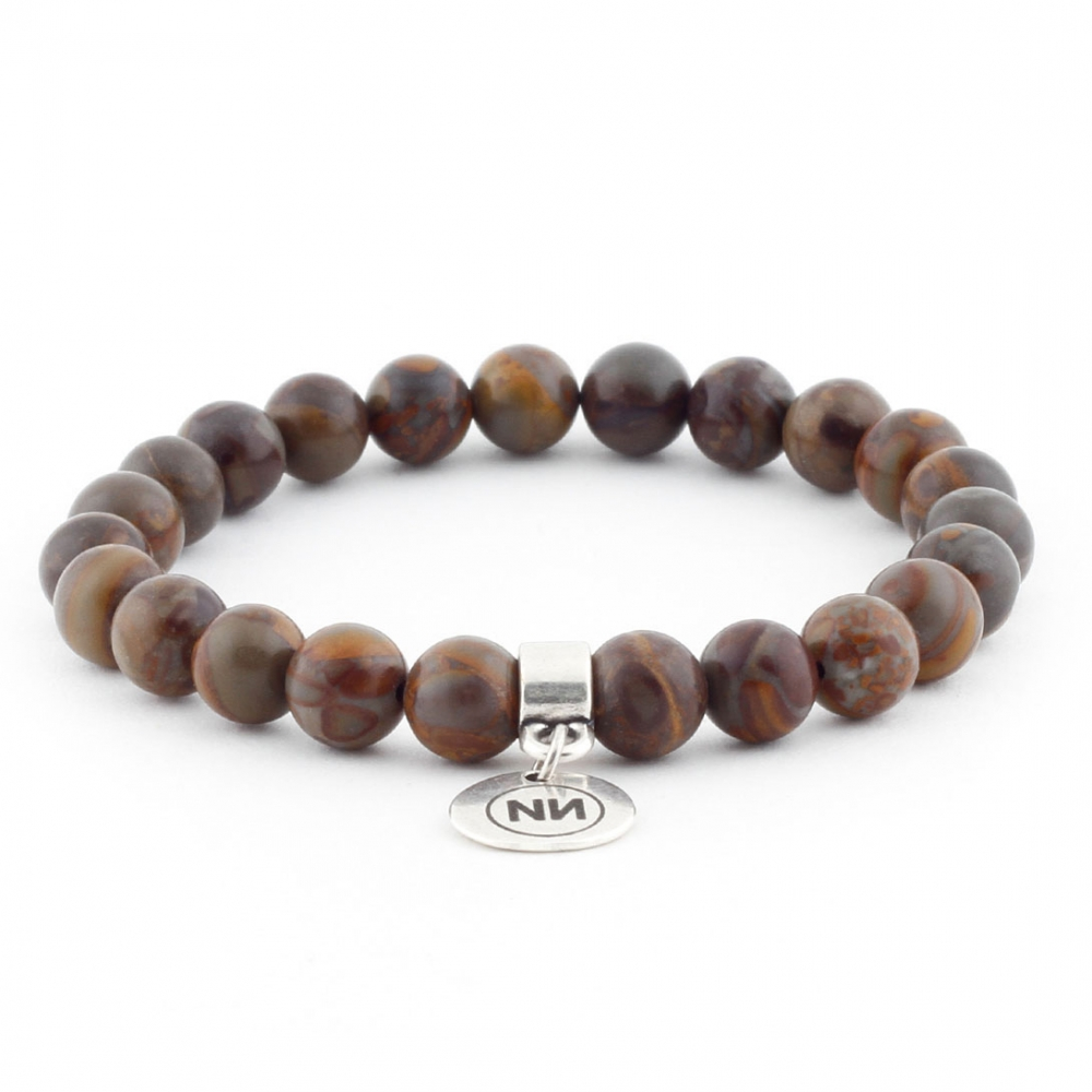 Bamboo Panda bracelet with pendant