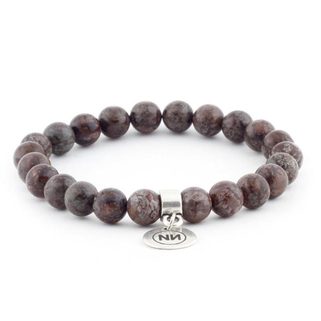 Bracelet brown Nevada avec pendentif