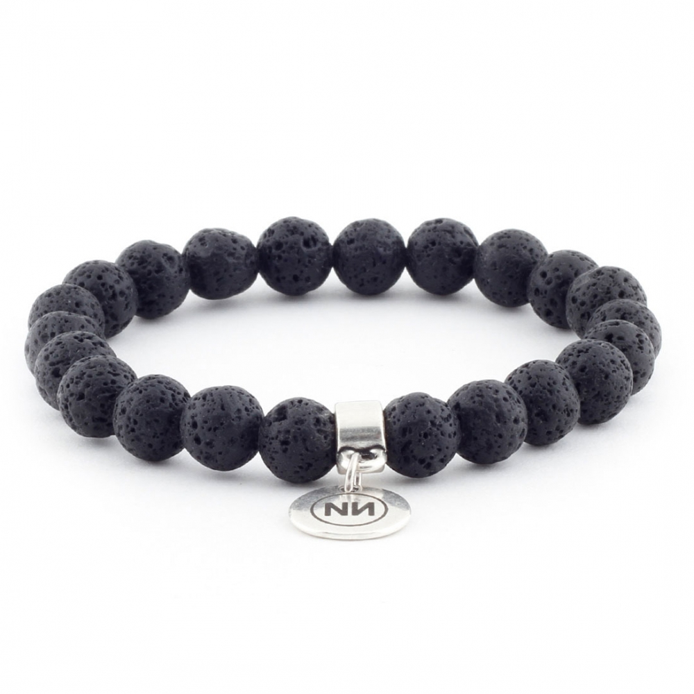 Krakatoa volcano bracelet with pendant