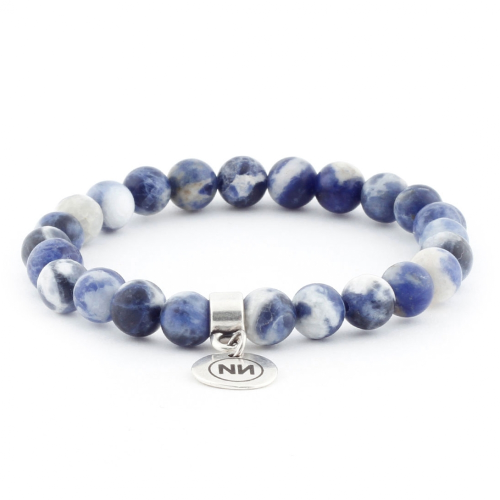 Blue sky bracelet with pendant