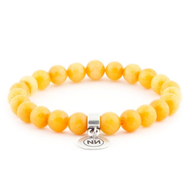 Bracelet d'ambre avec pendentif