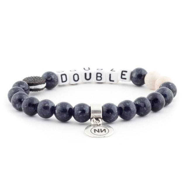 Bracelet Oreo double crème
