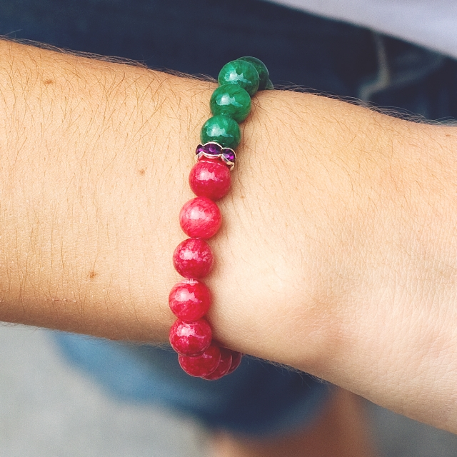 Armband Strawberry och Mint
