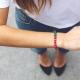 Strawberry and Mint bracelet