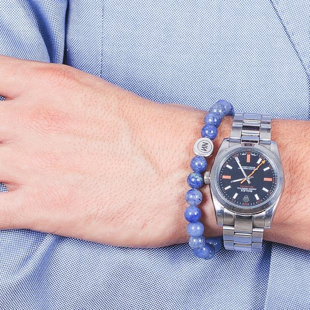 Bracelet bleu Ventura