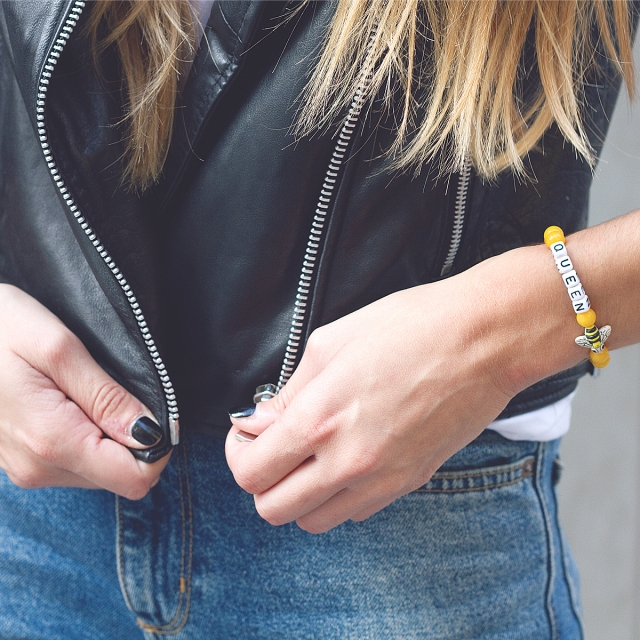 Armband Bienenkönigin