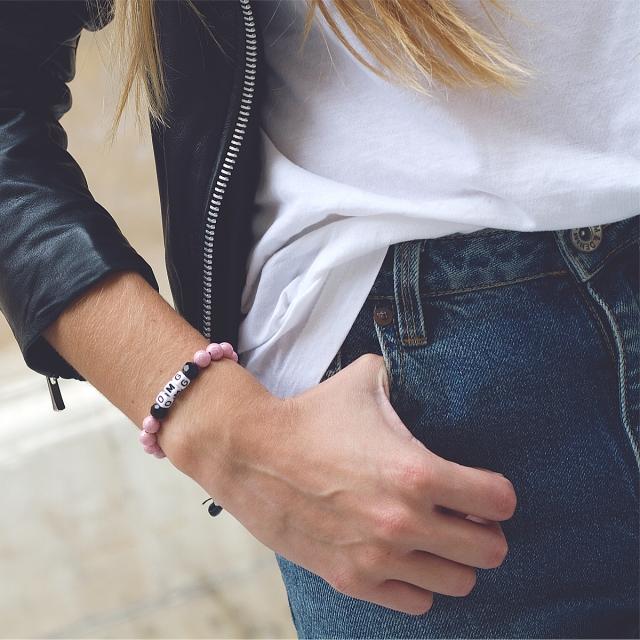 Armband OMG Pink